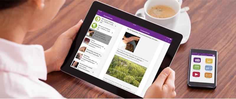 tablet smartphone npi nieuws app 2018 2