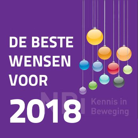 De beste wensen voor 2018!